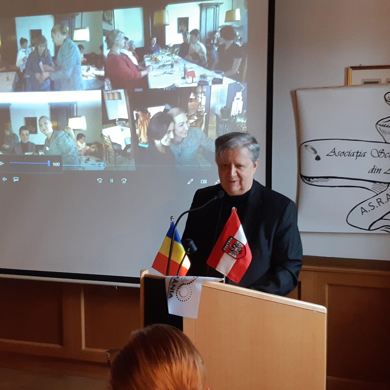 Asociația Scriitorilor Români din Austria la prima aniversare