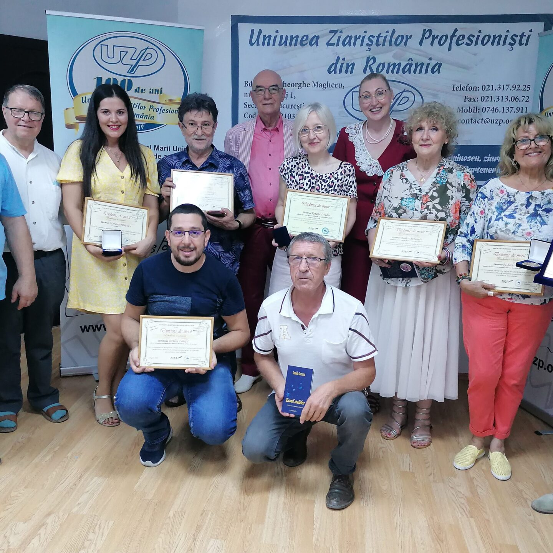 Diploma de merit Excelența condeiului a fost acordată Uniunii Ziariștilor Profesioniști din România