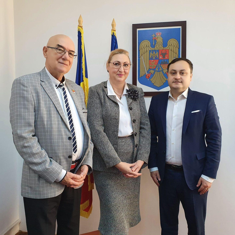 În vizită oficială la Departamentul pentru Românii de Pretutindeni